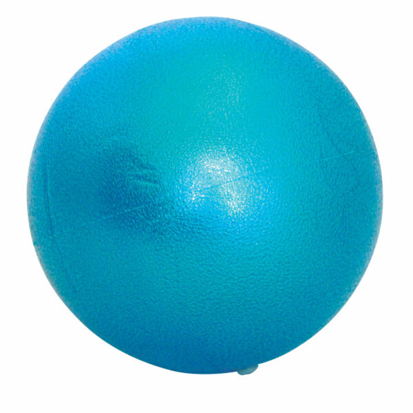 Pilates Stability Ball Soft blue colour on white background